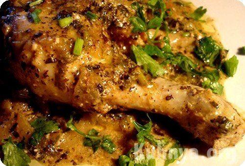 Курица с орешками рецепт